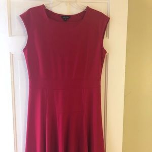 Lands End Red Dress. Size 10-12